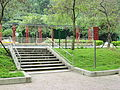 Small Park on the side of Zhongshan N Road.JPG