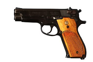 Smith & Wesson Model 39 - Image: Smith and Wesson model 39 IMG 3063