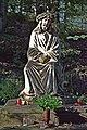 Socha Jažíše Krista v lese u Křížové cesty v Jiřetíně pod Jedlovou.jpg