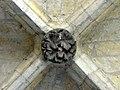 Soissons (02), abbaye Saint-Jean-des-Vignes, cloître gothique, galerie sud, clé de voûte 2.jpg