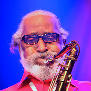 Sonny Rollins at Stockholm Jazz Fest 2009.