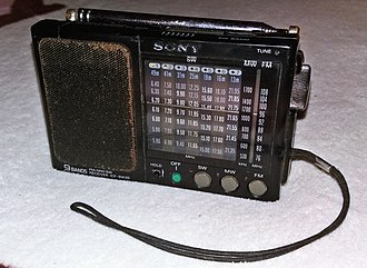 Towada Audio - Image: Sony Old School Radio Portable ICF SW20