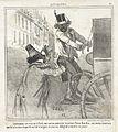 Soulouque, retrouvant a Paris son ancien ministre le prince Trou-bon-bon; qui, moine heureux que lui, n'a rien emporte en fait d'argent et s'est vu oblige de se mettre en place. LACMA M.76.132.91.jpg