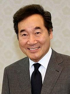Lee Nak-yon Prime Minister of South Korea