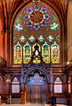 South window of Memorial Transept, Memorial Hall, Harvard.jpg