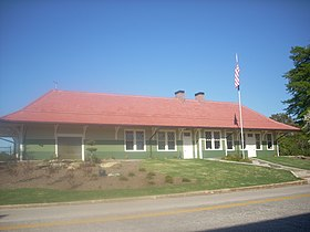 Southern Railway Passenger Station Westminster (Oconee County, South Carolina).JPG