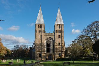 Southwell Minster - West front 2016