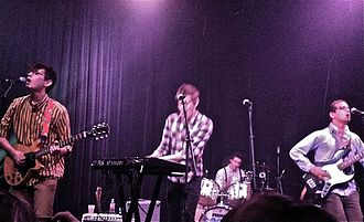 Speak (band) - Speak performing live in Austin, Texas
