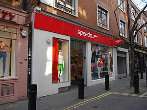 Speedo - Speedo shop, Neal Street, Covent Garden, London