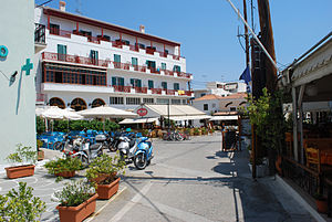 Spetses, street view.