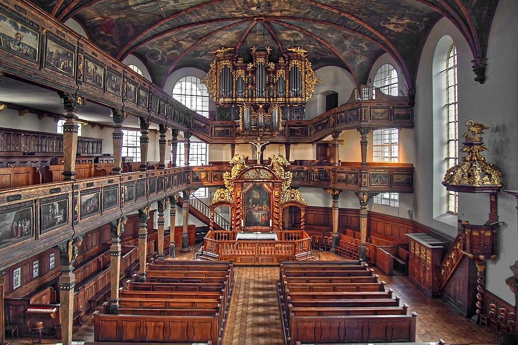 Speyer Dreifaltigkeitskirche Innenansicht
