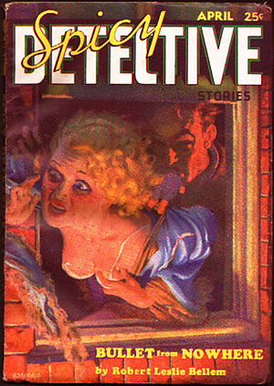 Pulp magazine - Image: Spicy Detective Stories April 1935