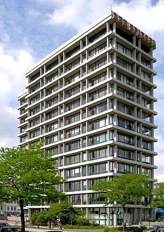 Der Spiegel - Old Spiegel headquarters, Hamburg