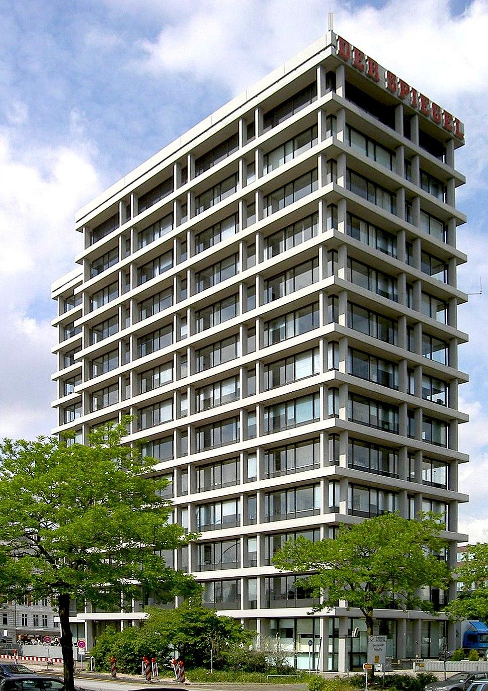Spiegel Building Hamburg 1