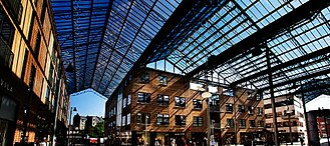 Spinderiet - Spinderiet, the glass roof