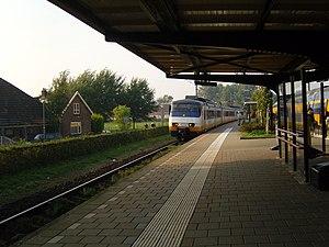 Castricum railway station - Image: Spinter station castricum