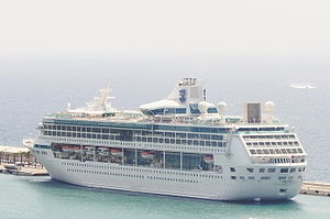 Splendour of the Seas порту Сплита (Хорватия)