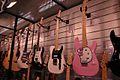 Squier guitars, Hello kitty Stratocaster, Salon de la Musique et du Son 2008.jpg