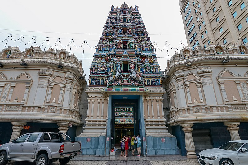 Mahamariamman temple in Kuala Lumpur