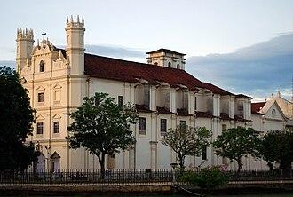 Old Goa - Image: St. Francis Church at Velha Goa