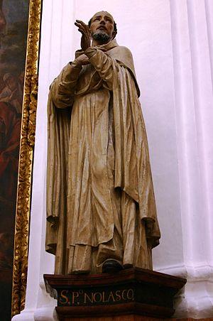 Peter Nolasco - St. Pedro Nolasco - Capilla de Santa Teresa - La Catedral - Córdoba