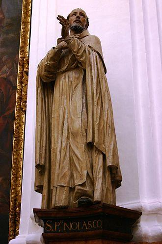 Peter Nolasco - St. Pedro Nolasco – Capilla de Santa Teresa – La Catedral – Córdoba