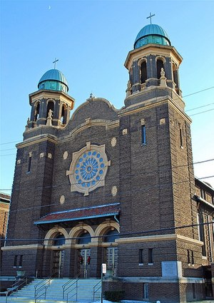 Hungarian Americans - St. Stephen Hungarian Roman Catholic Church in Toledo, Ohio