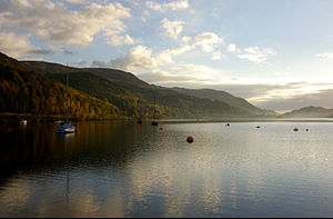St Fillans from Loch Earn Sailing Club.jpg