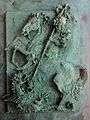 St George and the Dragon in bronze.jpg