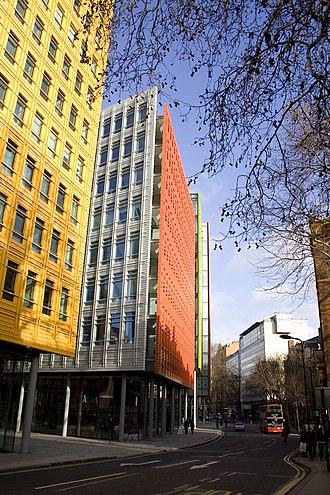 Central Saint Giles - Image: St Giles High Street January 2012