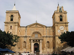 Co-cathedral - St. John's Co-Cathedral in Valletta, Malta