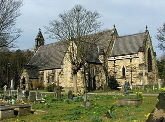 Culshaw and Sumners - St Luke's Church, Formby (1852–55)
