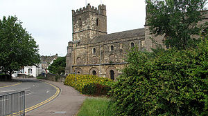 Priory Church of St Mary, Chepstow - View of St. Mary's Church