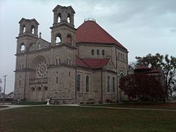 St Mary's Church Beaverville IL 102809.jpg