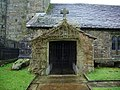 St Mary-le-Ghyll Church, Barnoldswick, Porch - geograph.org.uk - 622811.jpg
