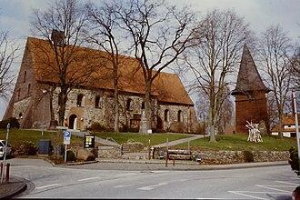 Seevetal - St. Mauritius-Church at Hittfeld