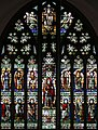 St Michael & All Angels, Granville Road, Southfields - Stained glass window, geograph-2825864-by-John-Salmon.jpg