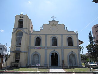 Roman Catholic Diocese of Malacca-Johor - St. Peter's Church in Malacca, built in 1710 and Malaysia's oldest operational Catholic church