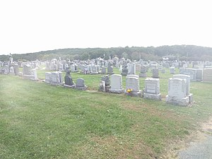 St. Peter's Cemetery (Staten Island) - Image: St Peters Cemetery in Staten Island jeh