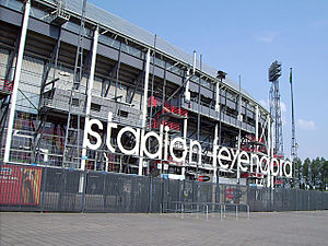 Feyenoord - Outside the stadium.