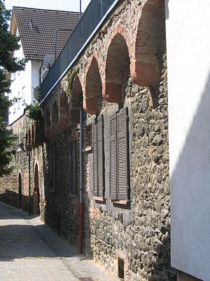 Hanau -  Relic of the first (medieval) town-fortification