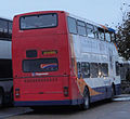 Stagecoach in Hampshire bus 16303 (S303 CCD) 1998 Volvo Olympian Alexander RL, Ryde bus station, 31 October 2010 (2).jpg