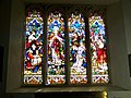 Stained Glass Window, St Mary and St Bartholomew, Cranborne - geograph.org.uk - 695380.jpg