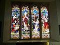 Stained Glass Window, St Mary and St Bartholomew, Cranborne - geograph.org.uk - 695380.jpg