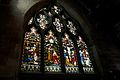 Stained glass window, St Michael's Church, Chester 5.jpg