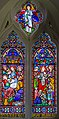 Stained glass window, St Nicholas' church, Iford, E Sussex (17314370536).jpg