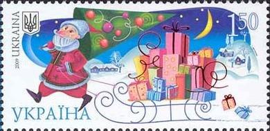 Stamp 2009 New year