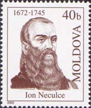 Ion Neculce - Image: Stamp of Moldova md 439