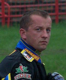 Stanisław Burza Polish speedway rider