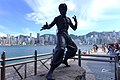 Star Avenue Bruce Lee Sculpture 201508.jpg